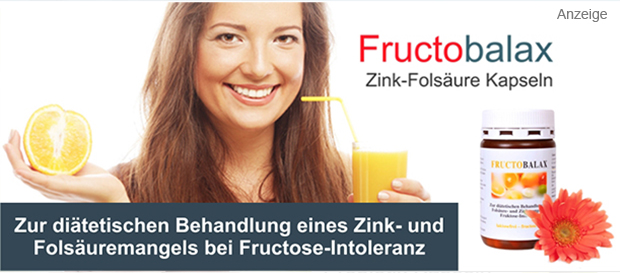 Fructobalax bei Fructoseintoleranz