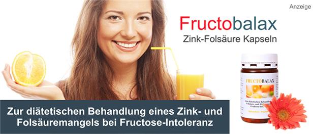 Fructobalax Zink-Folsäure-Kapseln