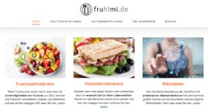 fruhimi.de: Fructoseintoleranz, Histaminintoleranz, Mikrobiom